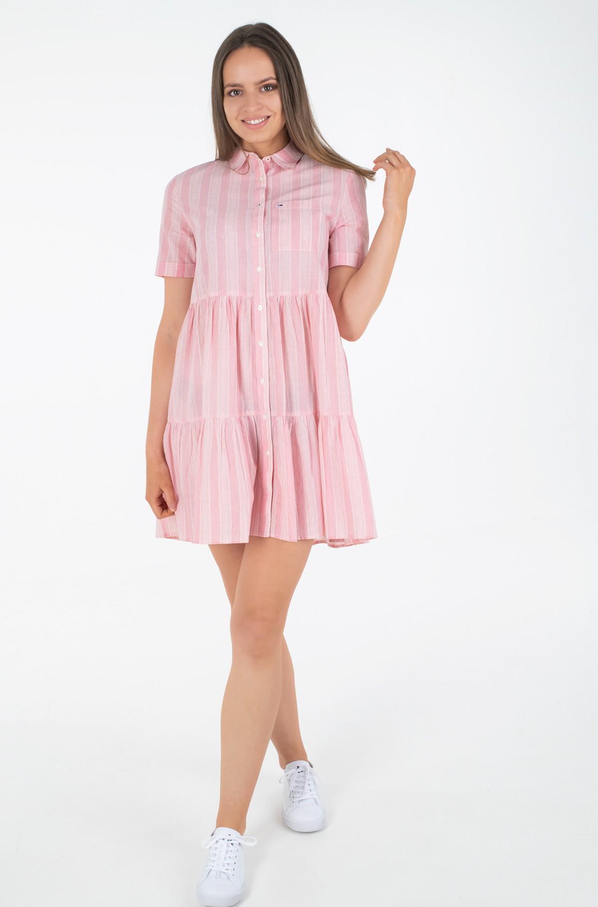 Dress TJW STRIPE TIERED SHIRT DRESS-full-1