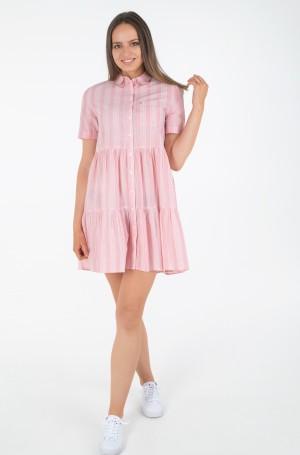 Dress TJW STRIPE TIERED SHIRT DRESS-1