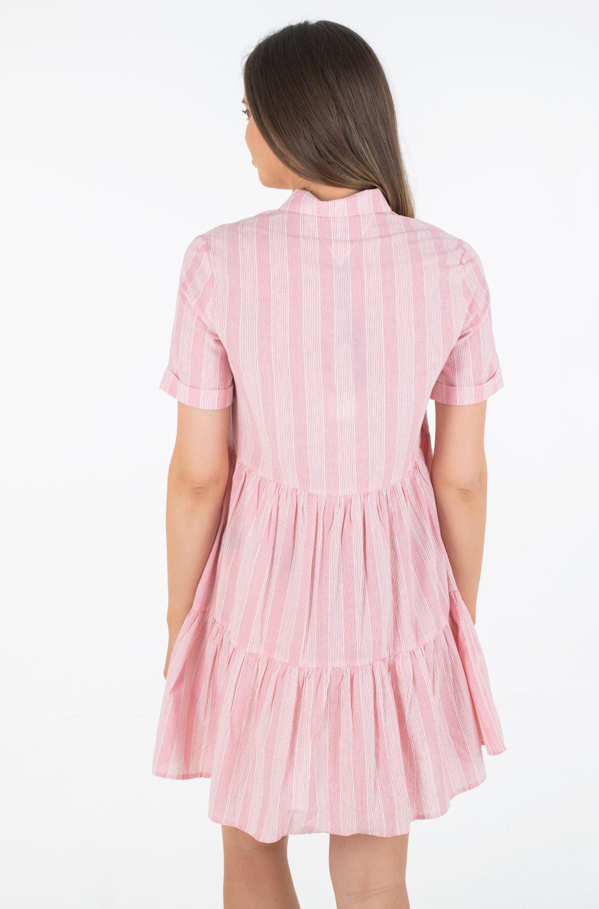 Dress TJW STRIPE TIERED SHIRT DRESS-full-3
