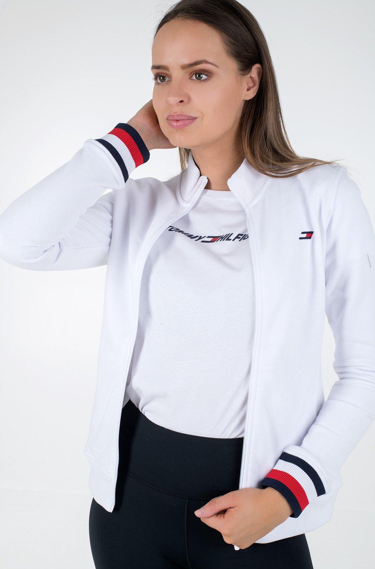 Sporta džemperis SLIM GLOBAL STP ZIP-UP LS-full-1