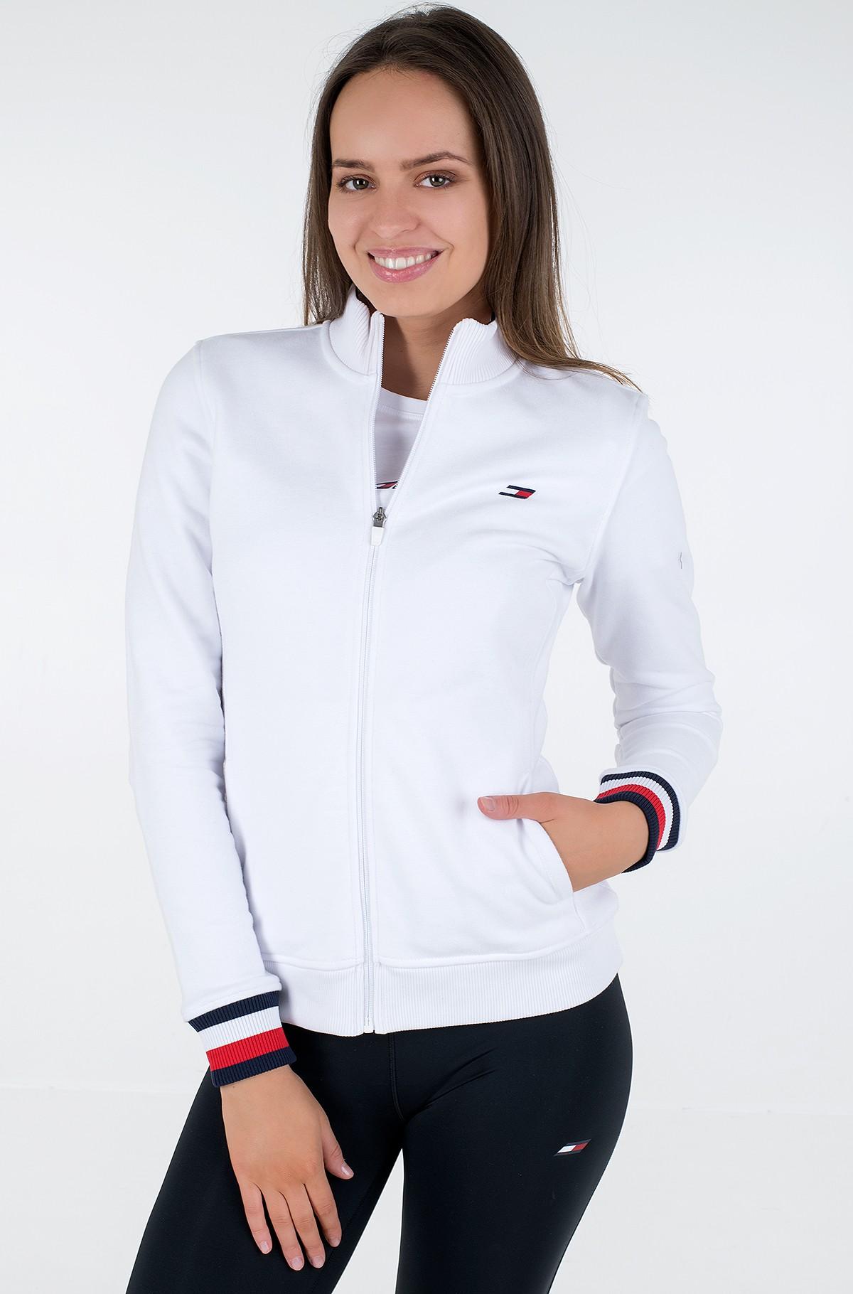 Sporta džemperis SLIM GLOBAL STP ZIP-UP LS-full-2