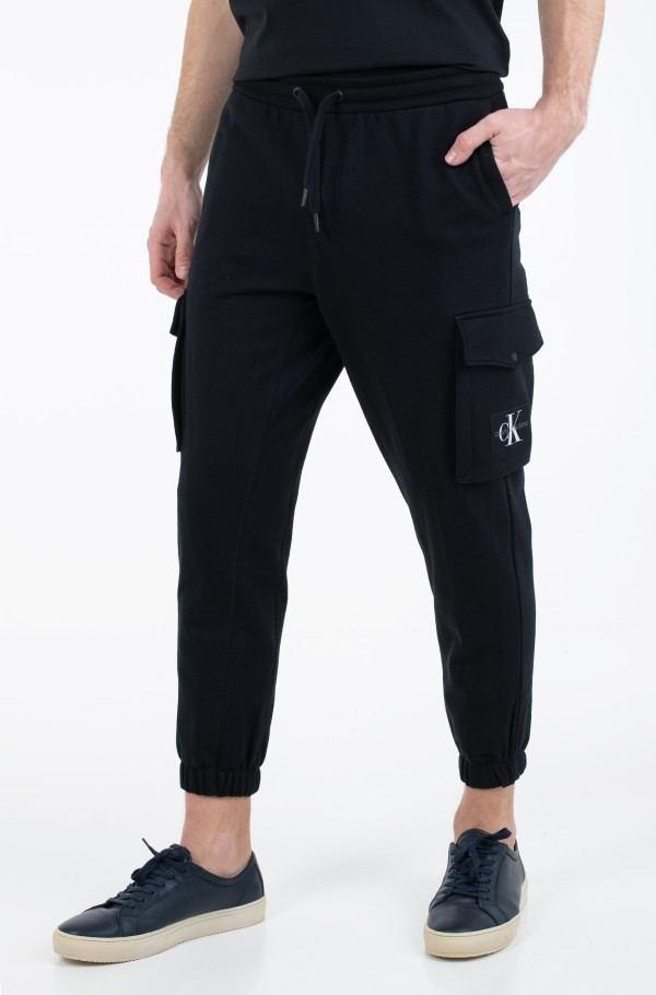 CARGO BADGE FLEECE PANT