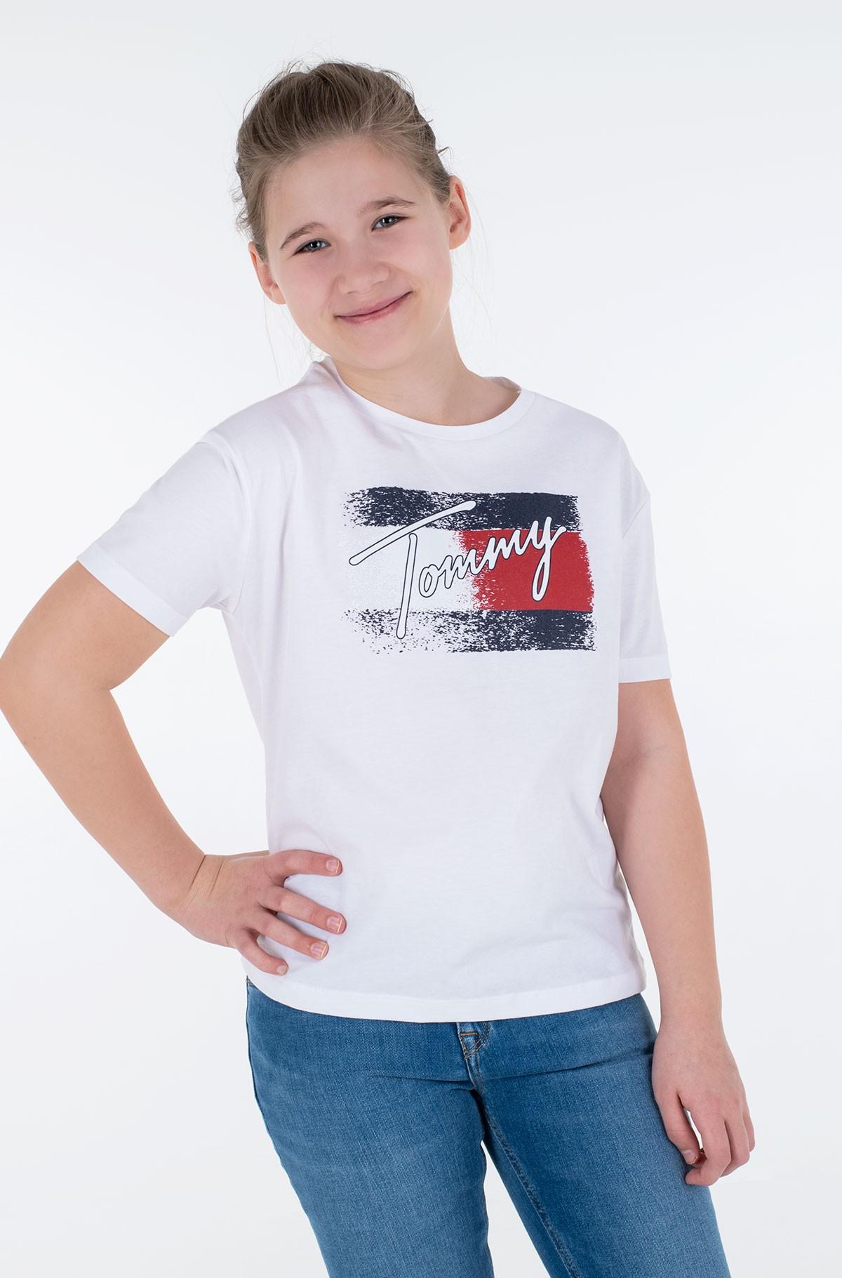 T-shirt FLAG PRINT TEE S/S-full-2