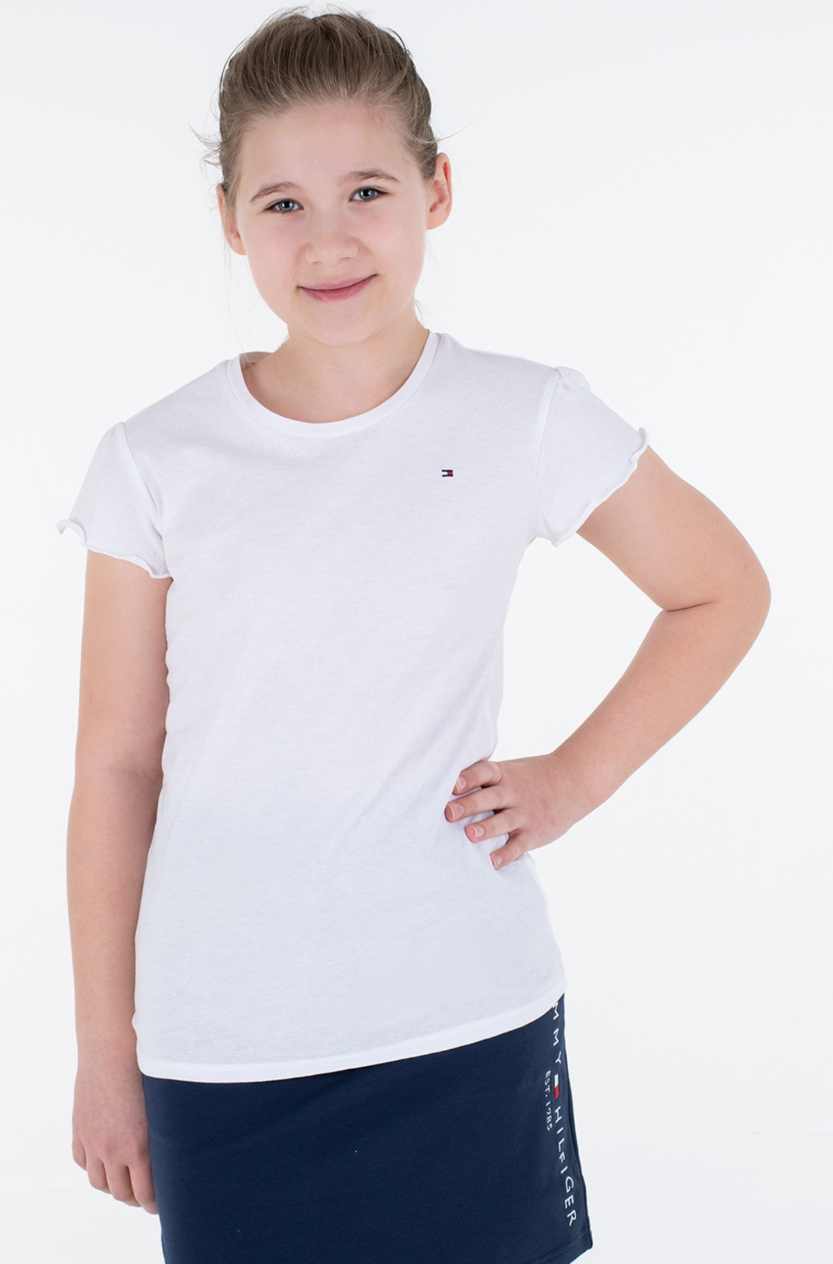 T-shirt ESSENTIAL RUFFLE SLEEVE TOP S/S-full-1