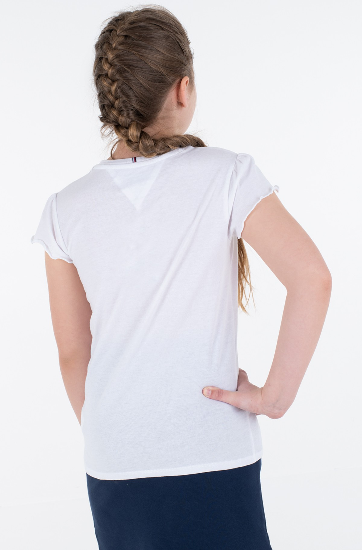T-shirt ESSENTIAL RUFFLE SLEEVE TOP S/S-full-2