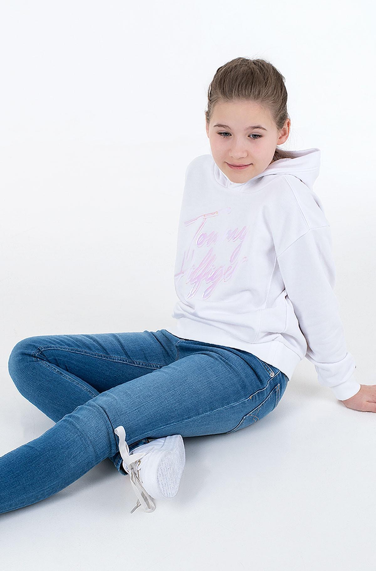 Sporta džemperis SCRIPT PRINT HOODIE-full-2