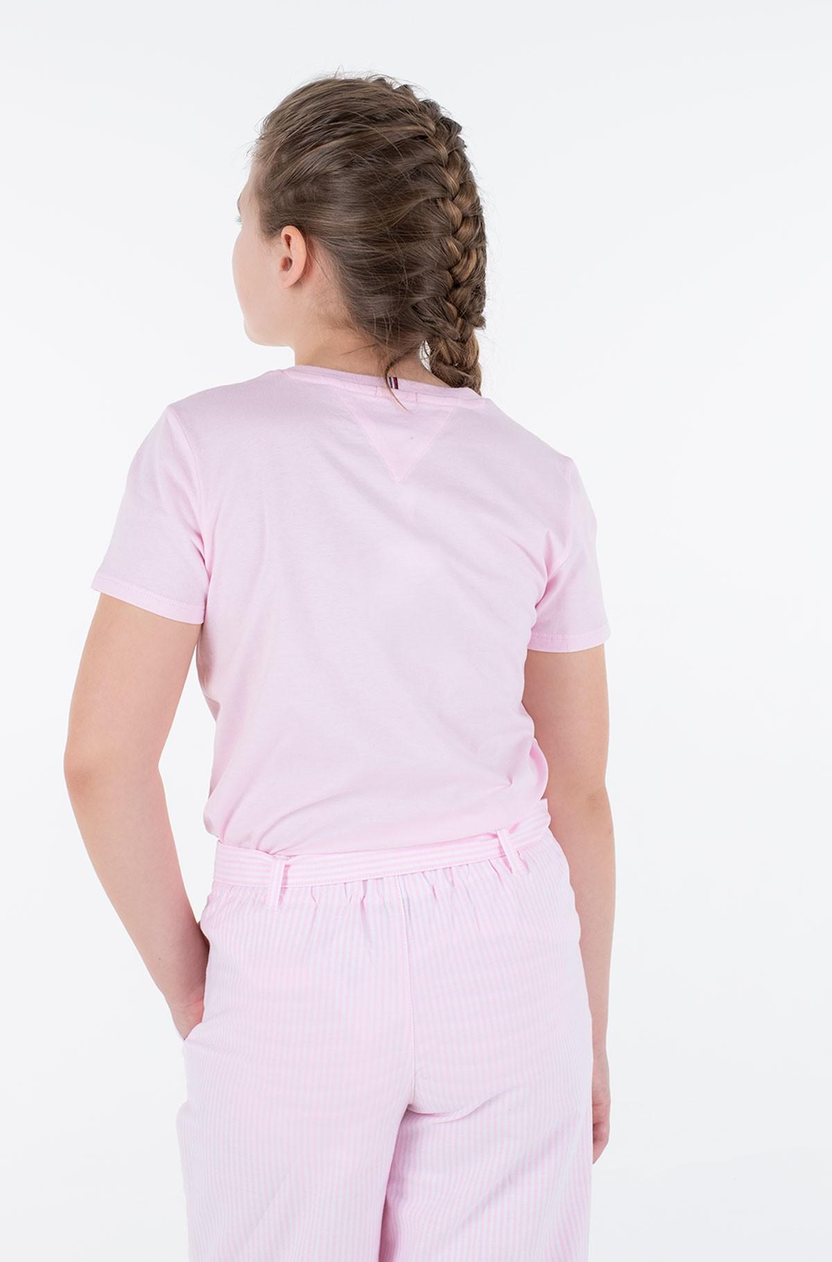 T-shirt SCRIPT PRINT TEE S/S-full-3