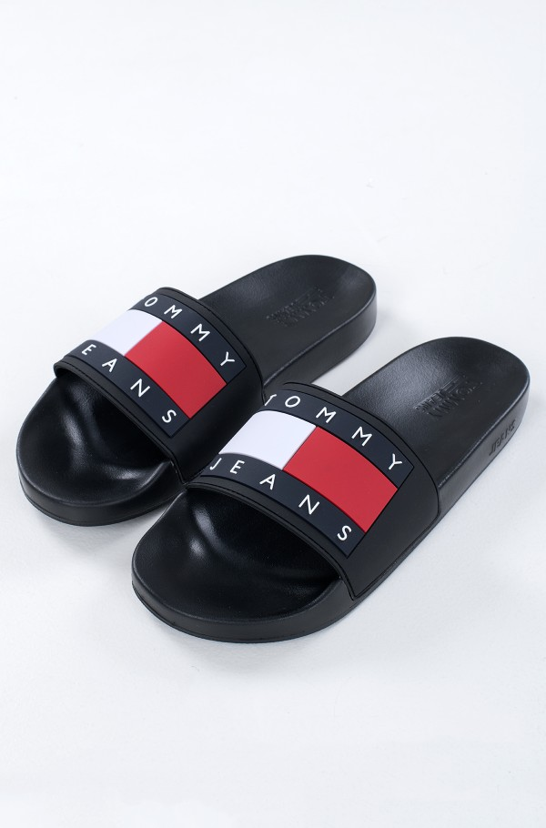TOMMY JEANS FLAG POOL SLIDE-hover