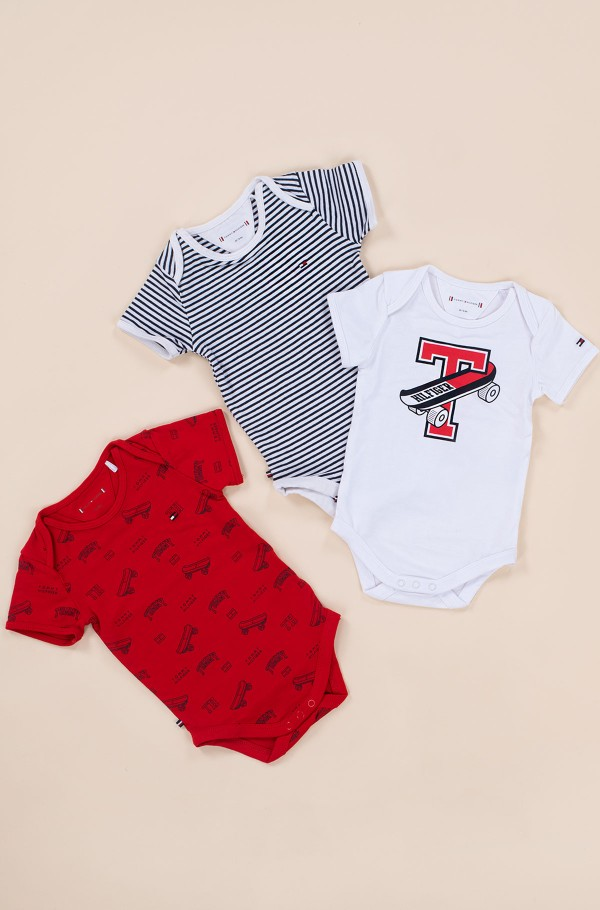 BABY 3 PACK BODY S/S GIFTPACK