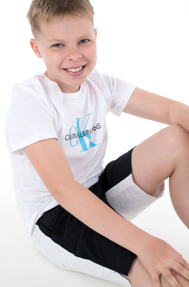 Kids t-shirt MONOGRAM LOGO T-SHIRT-1