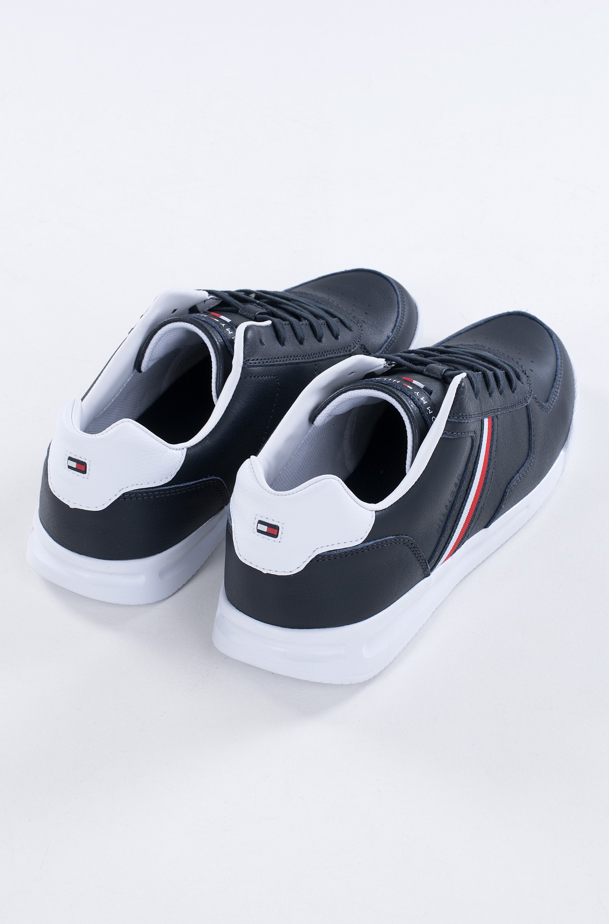 Casual shoes LIGHTWEIGHT LEATHER SNEAKER FLAG-full-3