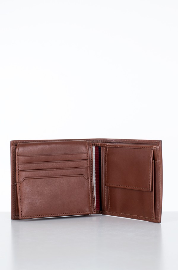 CASUAL LEATHER CC FLAP AND COIN-hover