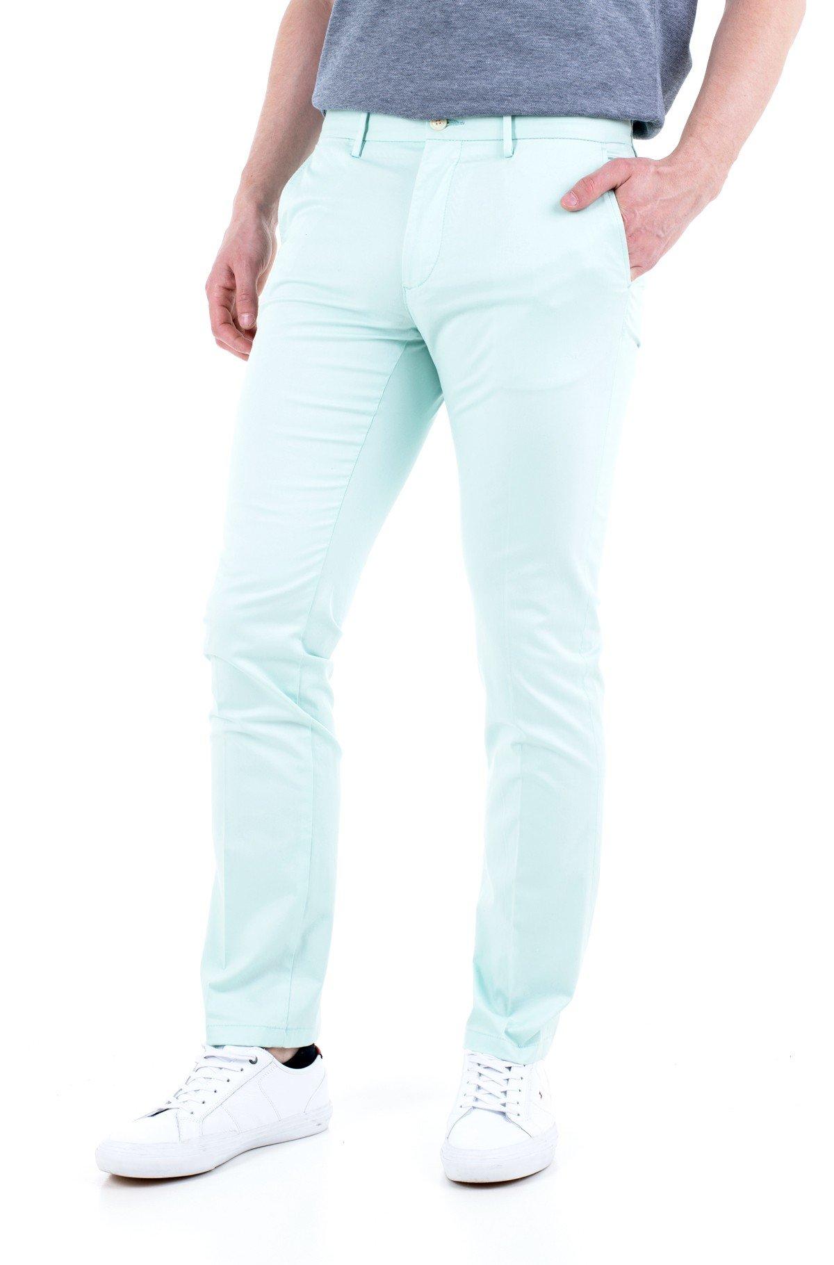 Fabric trousers DENTON TH FLEX SUMMER TWILL-full-1