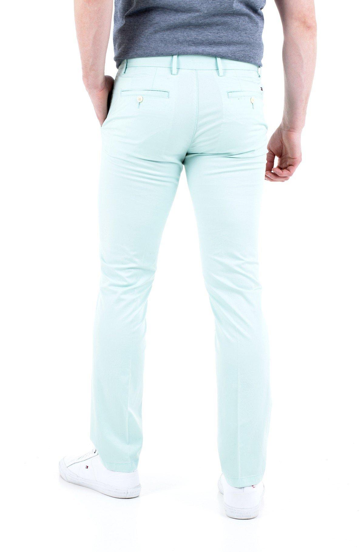 Fabric trousers DENTON TH FLEX SUMMER TWILL-full-2