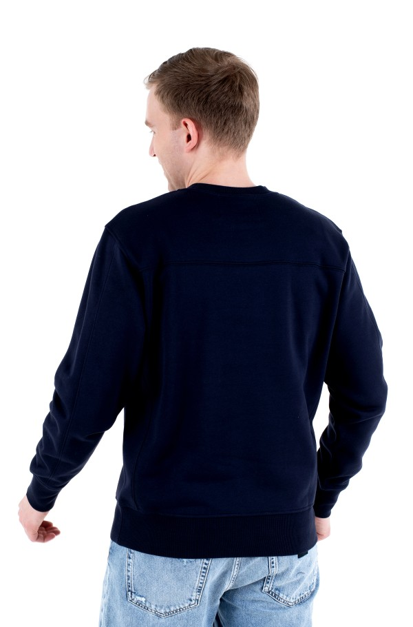 OFF PLACED ICONIC CREW NECK-hover