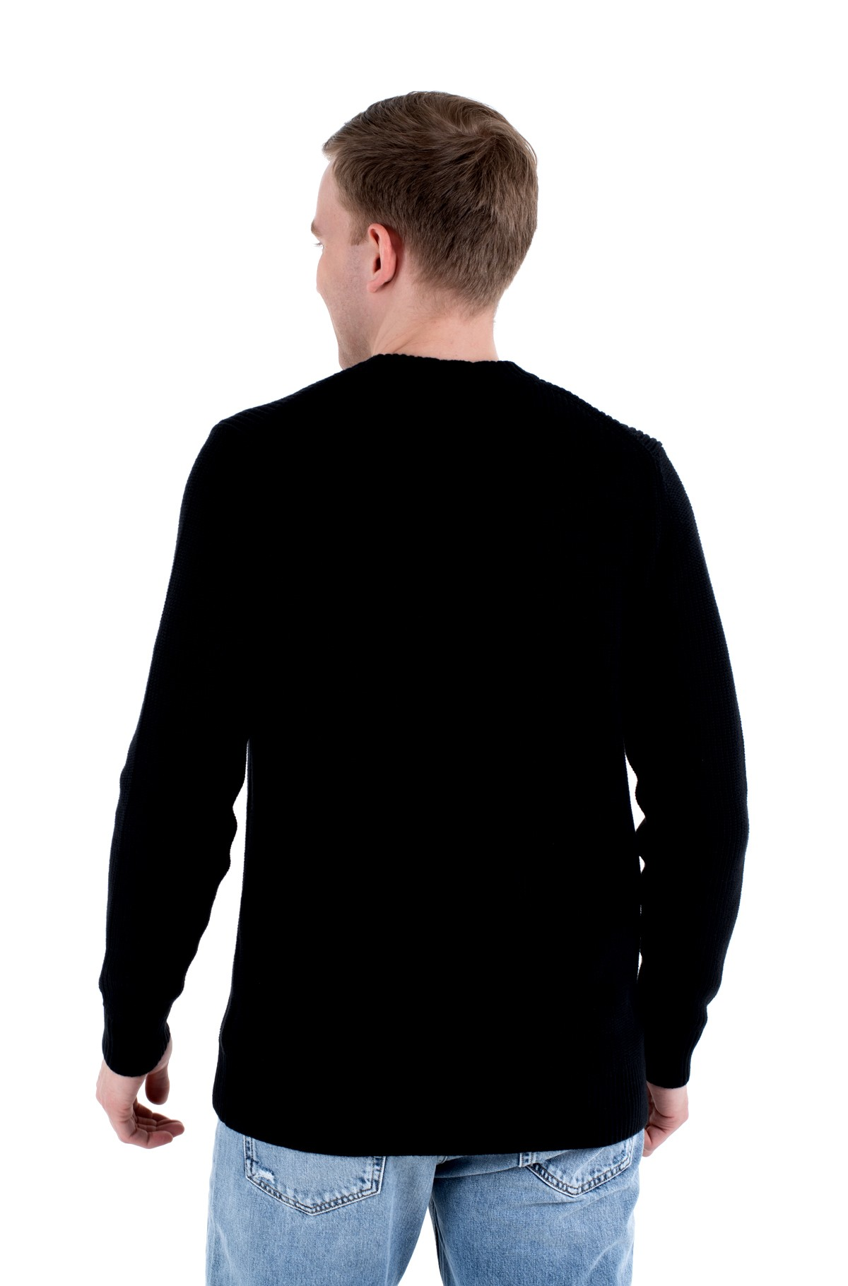 Sweater CK BOX STRIPE SWEATER-full-2