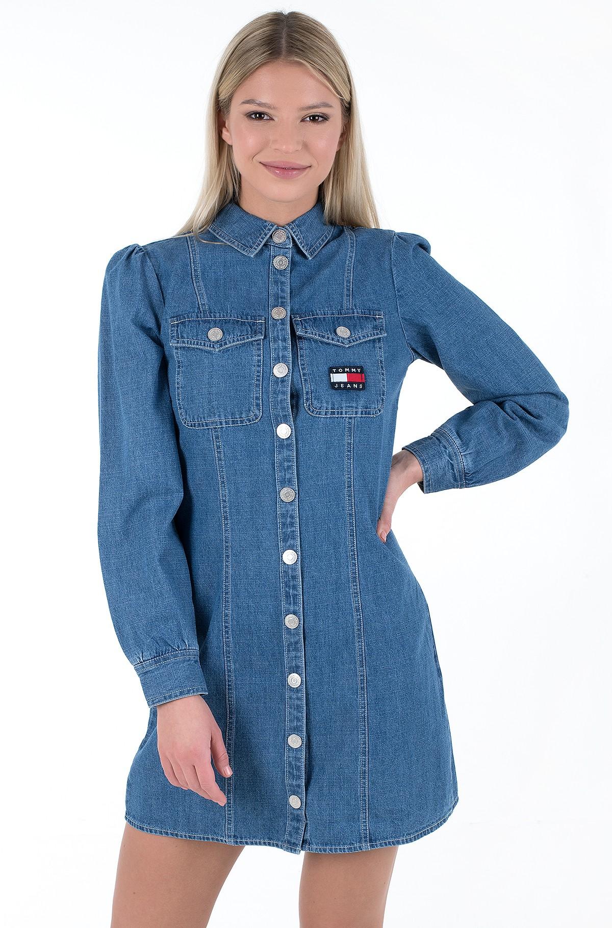 Teksakleit TJW CHAMBRAY SHIRT DRESS-full-2