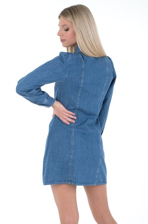 Teksakleit TJW CHAMBRAY SHIRT DRESS-3