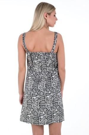 Dress WIDE STRAPS SATIN DRESS-2