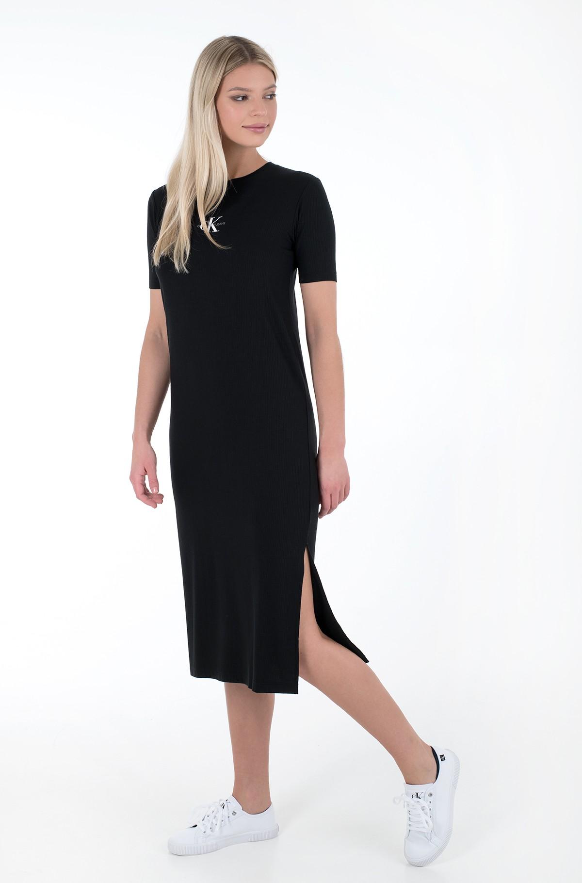 Suknelė RIB MAXI T-SHIRT DRESS-full-1