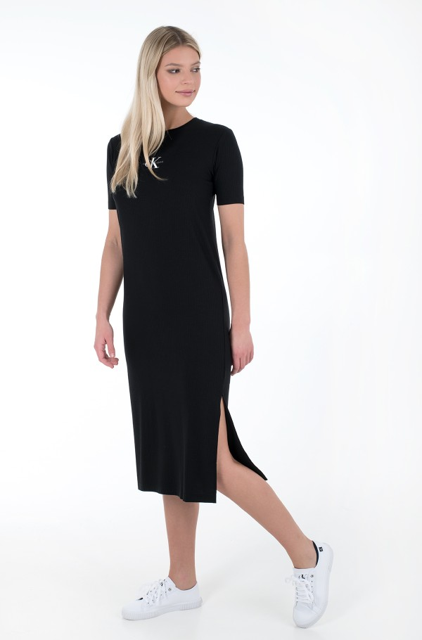 RIB MAXI T-SHIRT DRESS