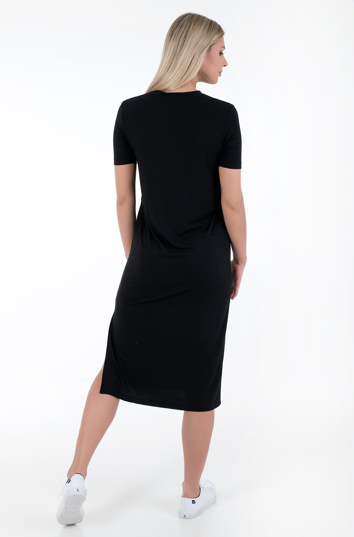 Suknelė RIB MAXI T-SHIRT DRESS-full-3