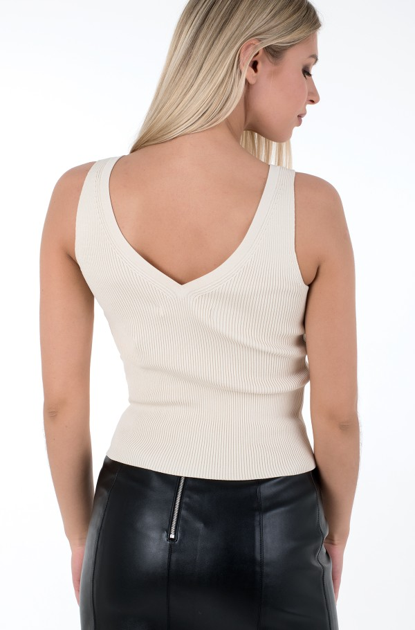 SWEATER TANK TOP-hover