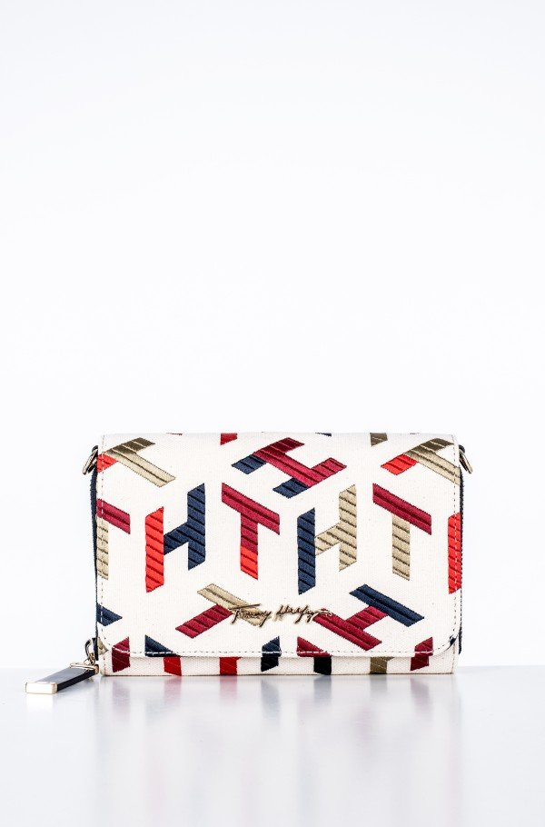 ICONIC TOMMY CROSSOVER MONO EMBR-hover