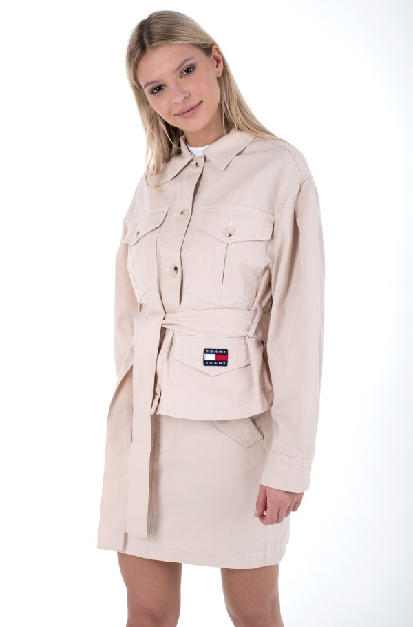 TJW BELTED OVERSHIRT-hover