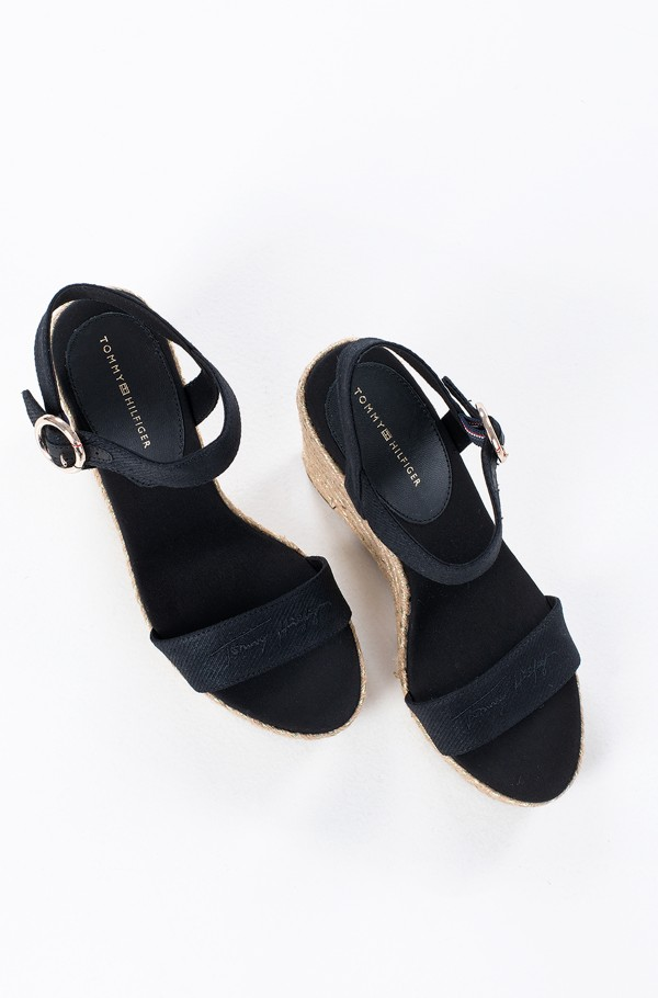 TH SIGNATURE HIGH WEDGE SANDAL-hover