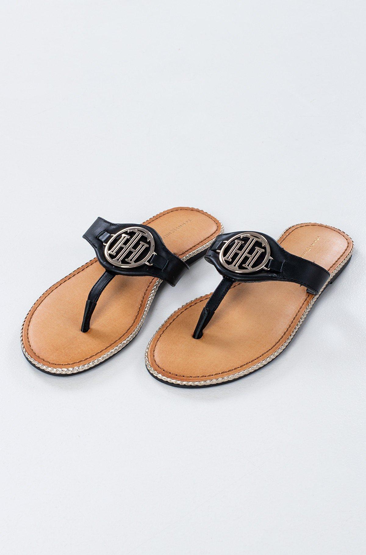 Sandals ESSENTIAL LEATHER FLAT SANDAL-full-1