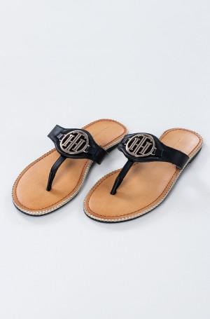 Sandals ESSENTIAL LEATHER FLAT SANDAL-1