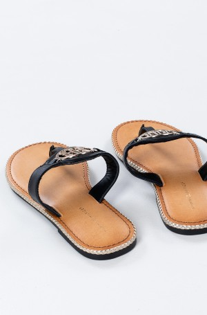 Sandals ESSENTIAL LEATHER FLAT SANDAL-3