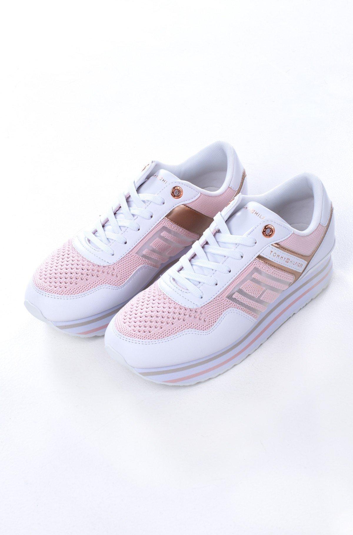 Platform sneakers  KNITTED FLATFORM SNEAKER-full-1