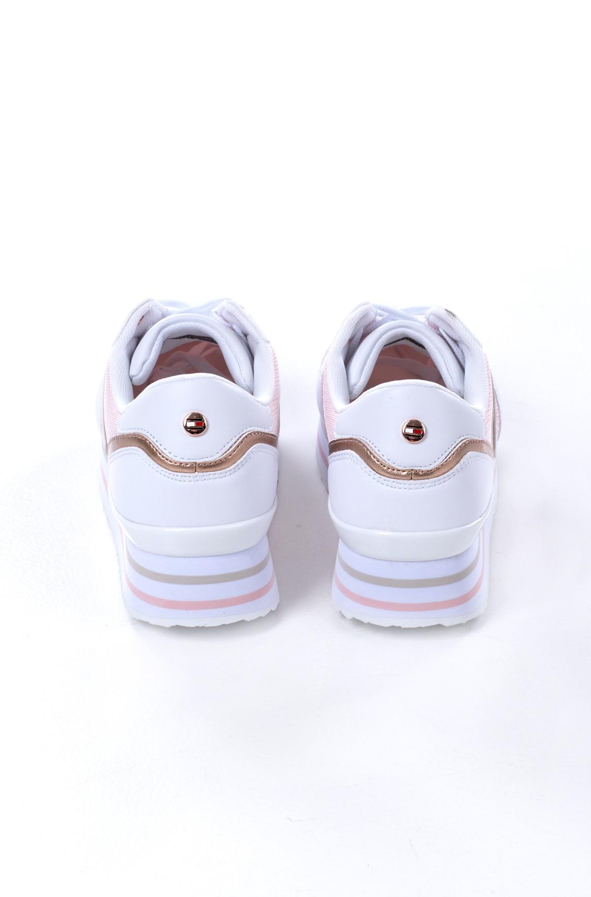 Platform sneakers  KNITTED FLATFORM SNEAKER-full-3