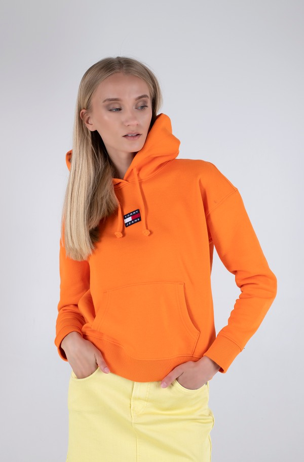 TJW TOMMY CENTER BADGE HOODIE