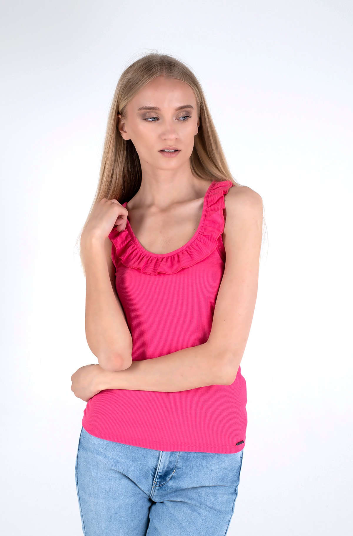 Marškinėliai be rankovių DORINA/PL504850-full-1