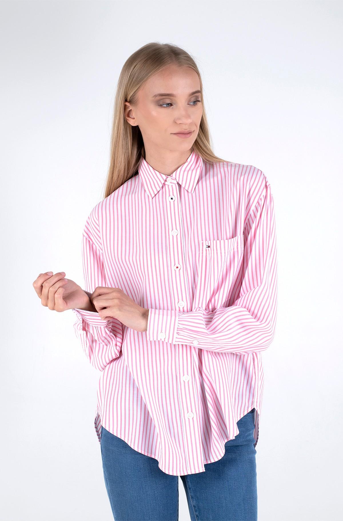 Marškiniai TJW OVERSIZED STRIPES SHIRT-full-1