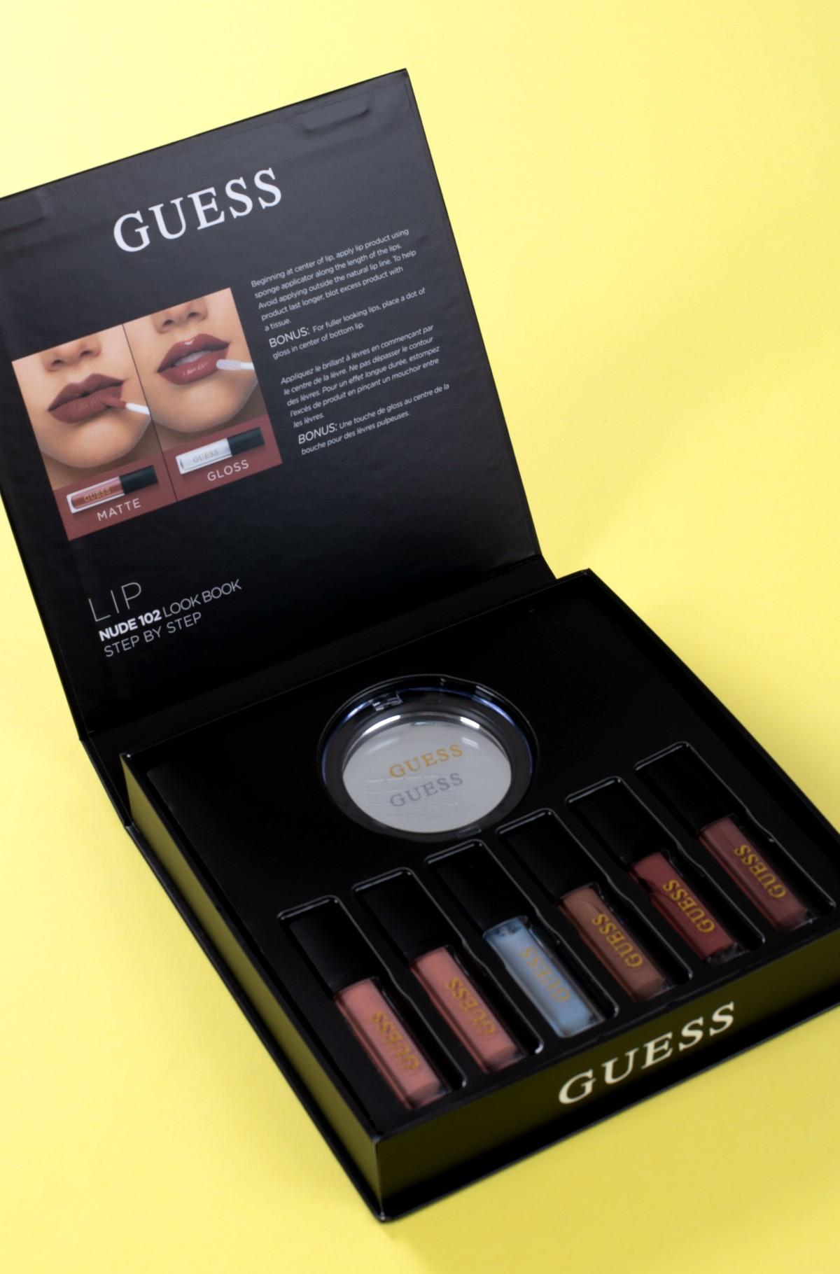 Kosmeetika komplekt Guess Season 2 Nude 102 lip kit-full-2