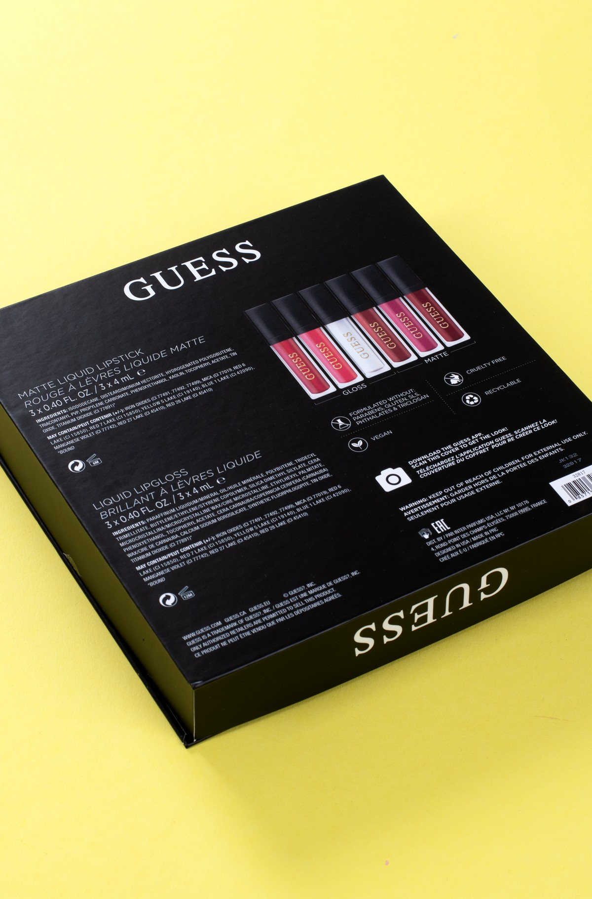 Makeup kit Guess Season 2 Red 102 LIP KIT-full-3