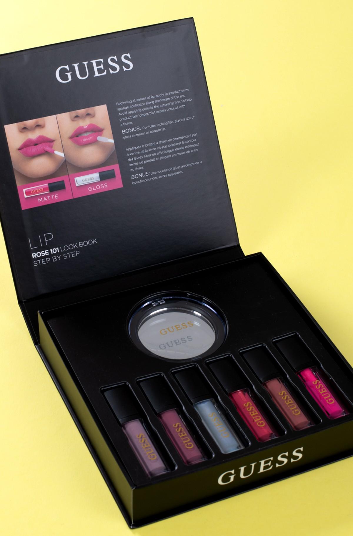 Kosmeetika komplekt Guess Season 2 rose 101 LIP kit-full-2