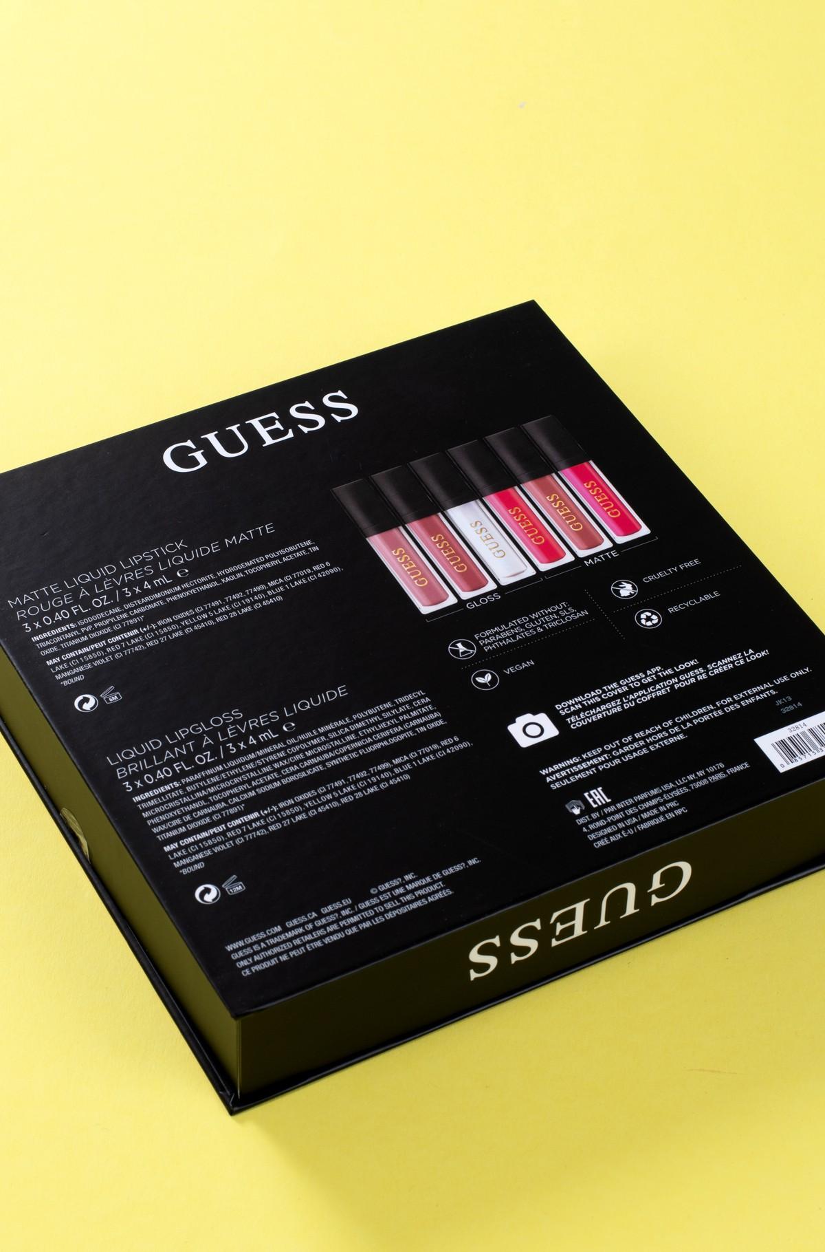 Kosmeetika komplekt Guess Season 2 rose 101 LIP kit-full-3