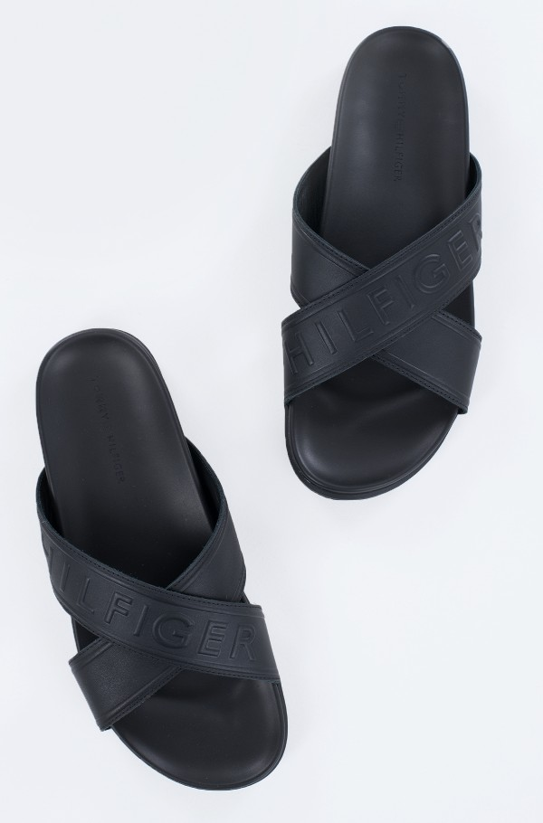 ELEVATED EMBOSSED SANDAL-hover