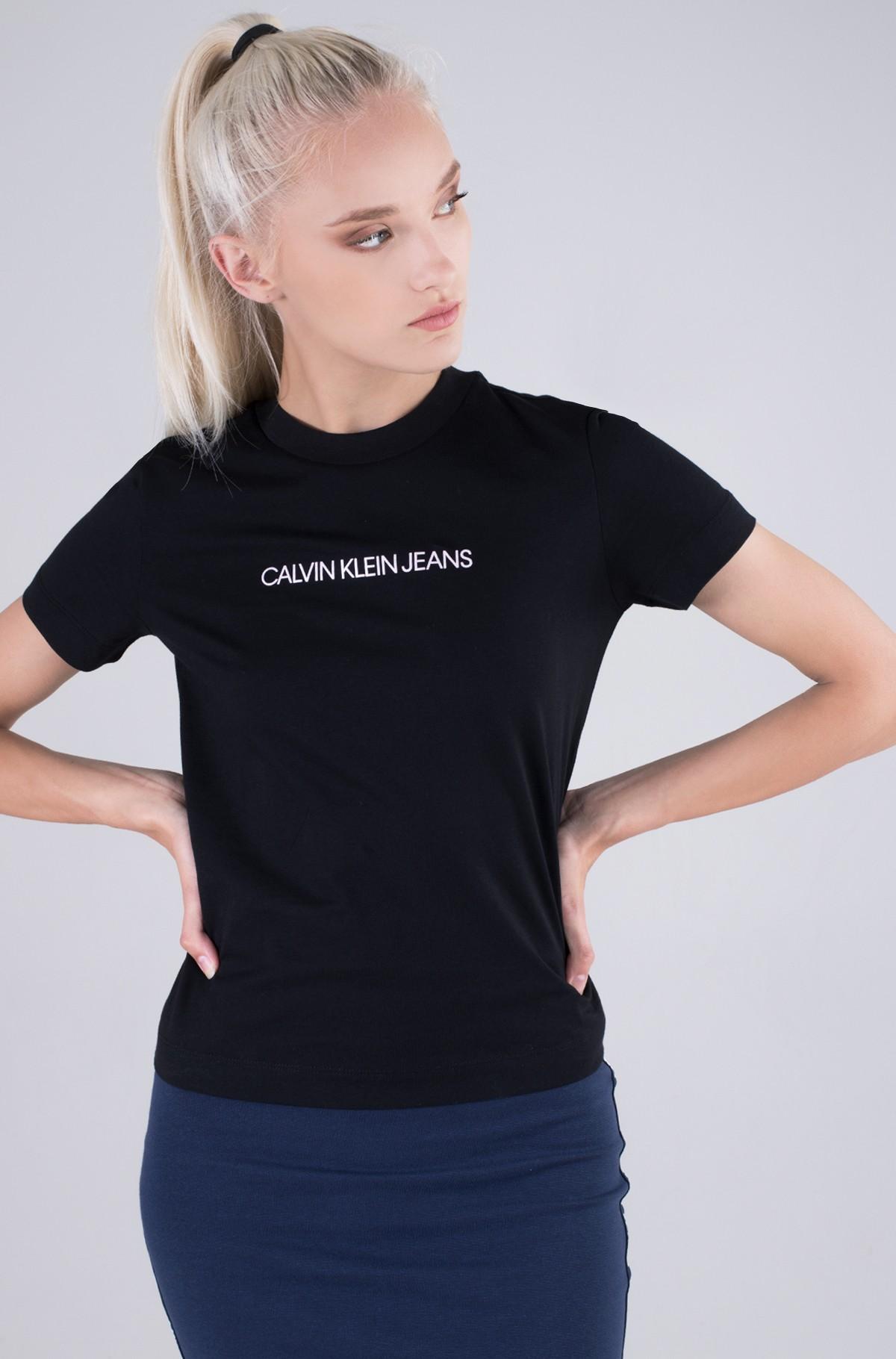 T-shirt SHRUNKEN INSTITUTIONAL TEE-full-1