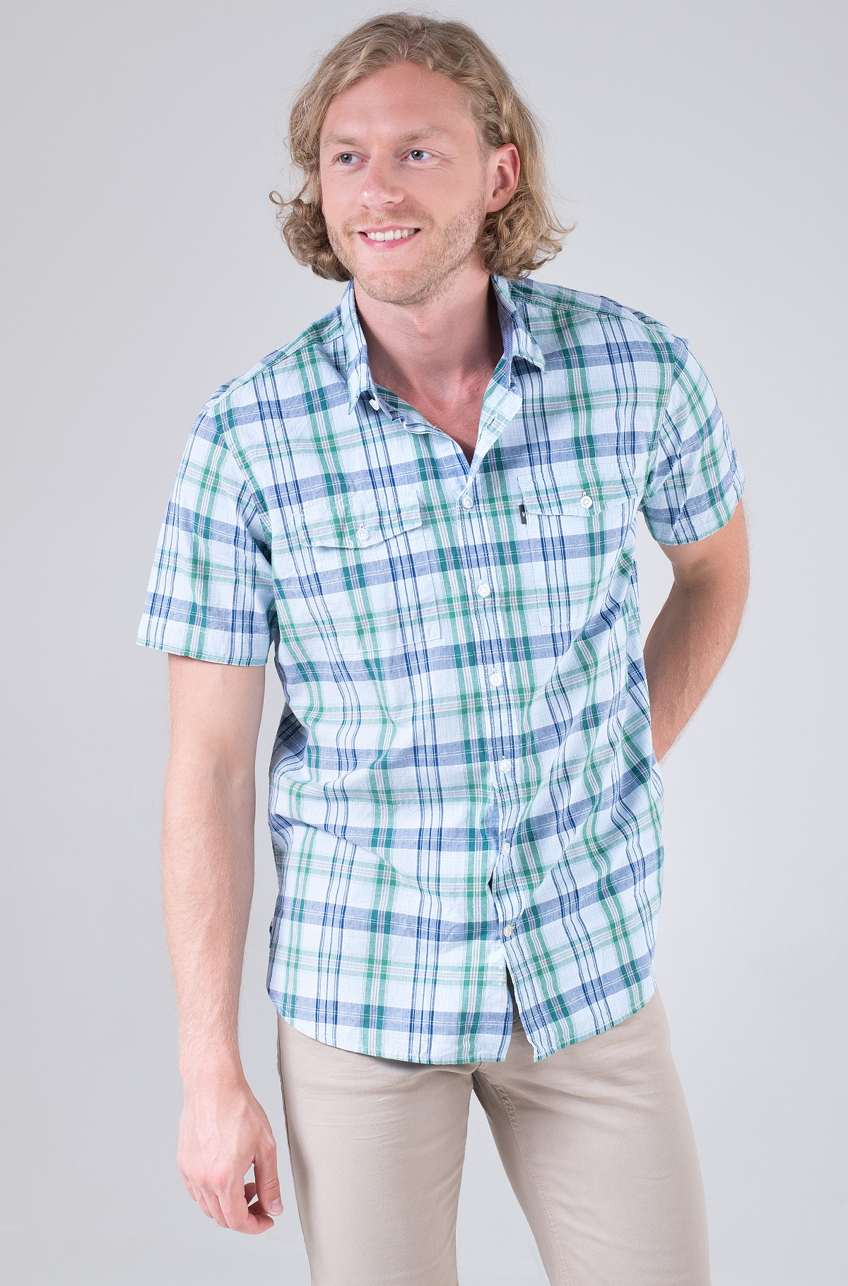 Marškiniai su trumpomis rankovėmis 409236/5S23-full-2
