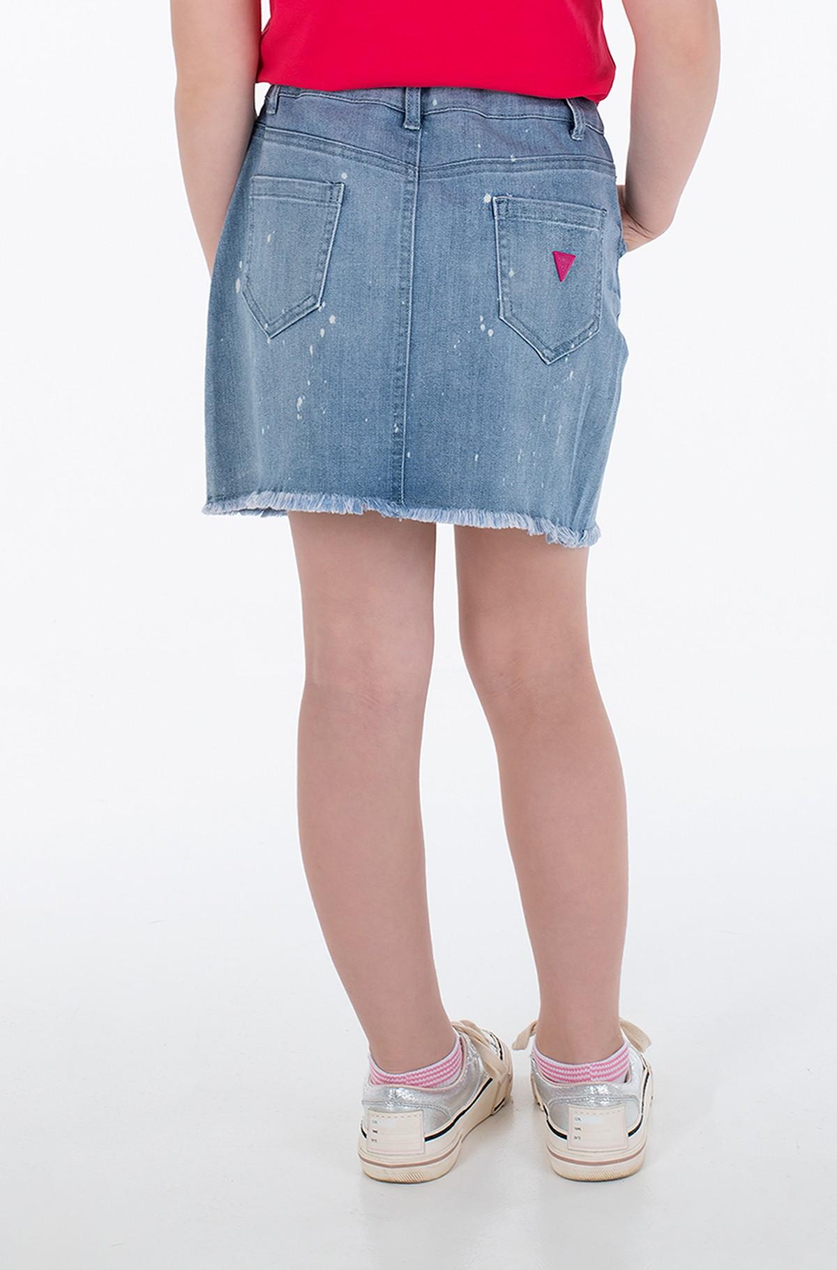 Children's denim skirt J1GD14 D4CA0-full-3