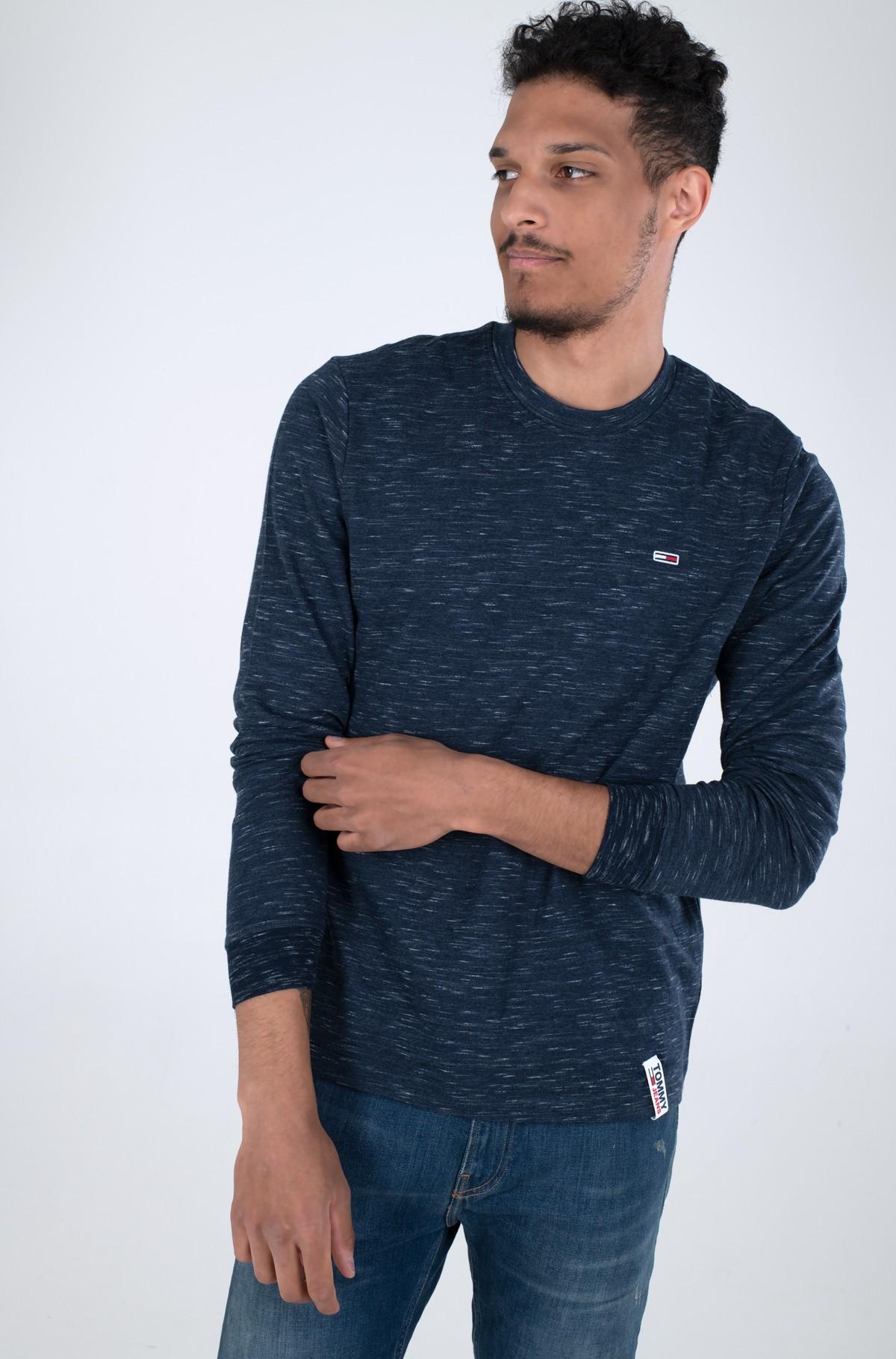 T-krekls ar garām piedurknēm  TJM CREW NECK SNIT-full-1