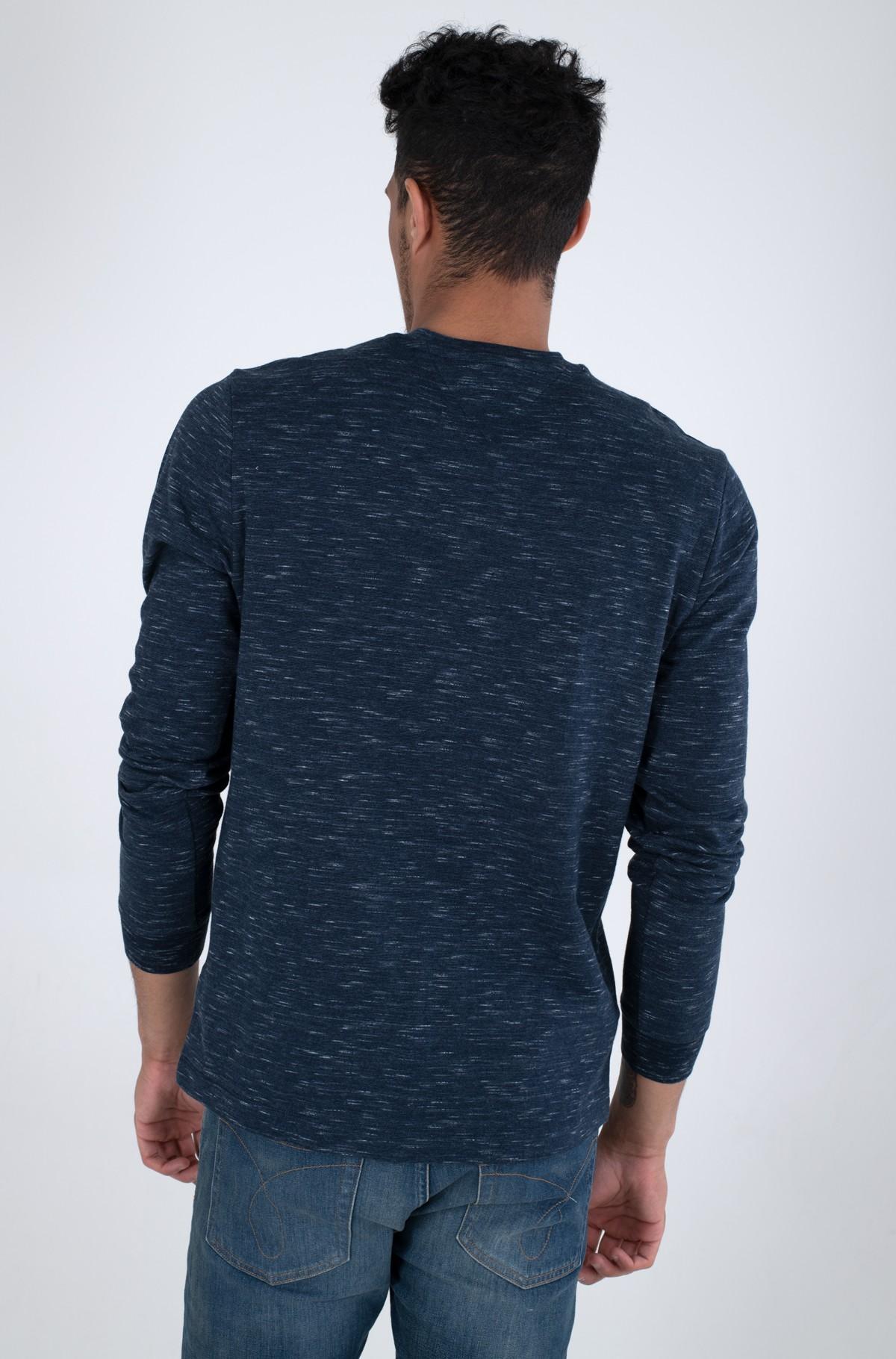 T-krekls ar garām piedurknēm  TJM CREW NECK SNIT-full-2
