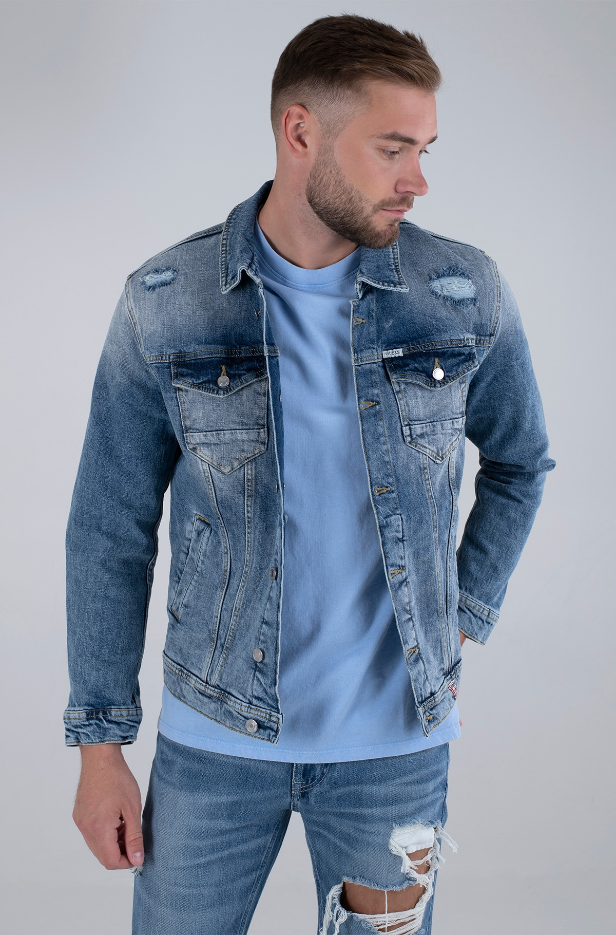 Denim jacket M1GN14 D47IC-full-1
