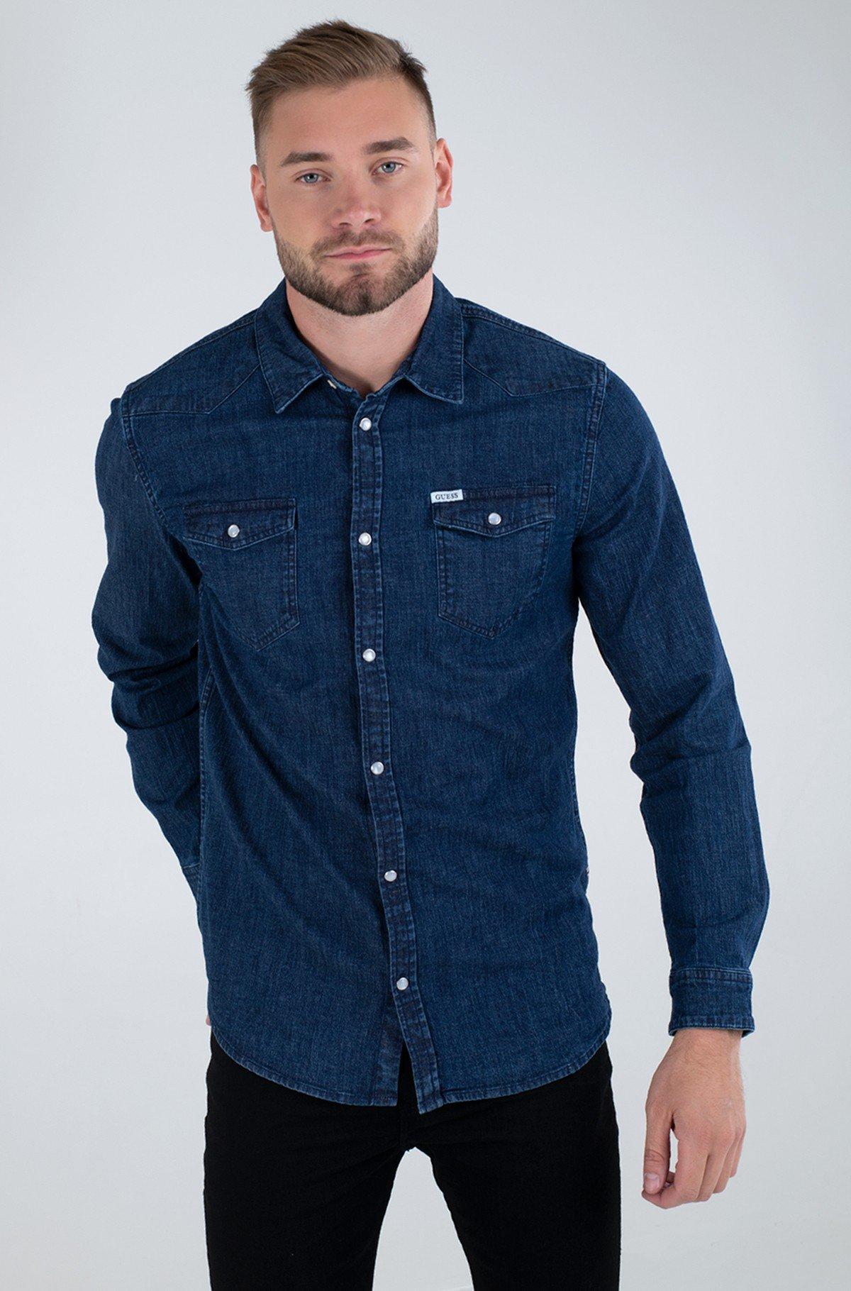 Džinsiniai marškiniai M1RH02 D4BD1-full-1
